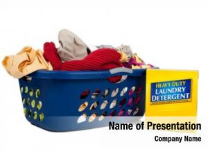 Dirty overflowing basket laundry box