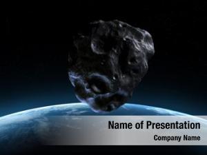 Scene rendered armageddon asteroid