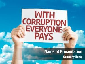 Pays corruption everyone card sky