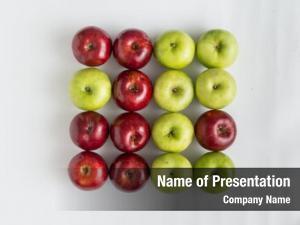 Apple one green row