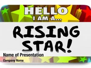 Coming rising star fame celebrity