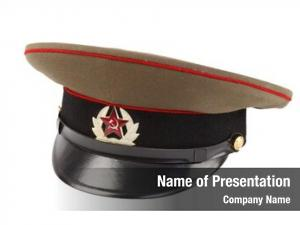 Officer russian military cap