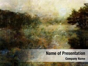 Landscape impressionist style