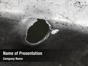 Bullet hole powerpoint theme