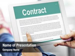 Terms business contract legal agreement