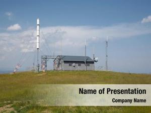 Hilltop transmitter station
