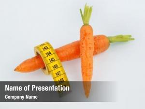 Farming carrots organic tape measure