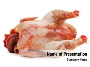 Fresh chicken raw white