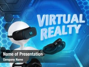 Original virtual realty character