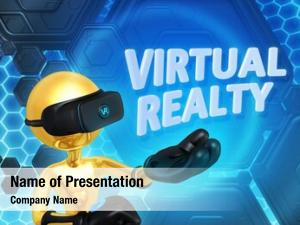 Virtual realty powerpoint template