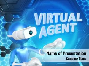 Virtual agent powerpoint background