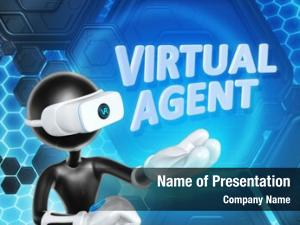 Virtual agent powerpoint template