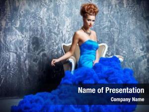 Haute couture fashion shot