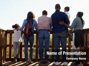 Observation deck multi generation family