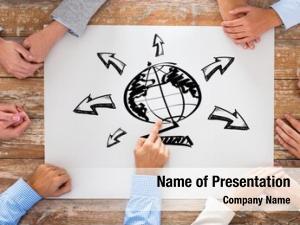 People global business, team work