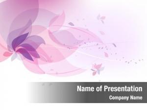 Pastel floral lilac flying petals