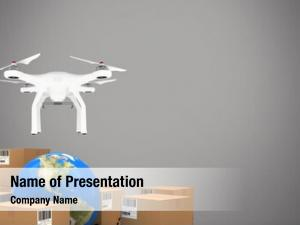 Drone digital composite flying delivery