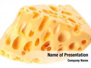 Cheese piece swiss white
