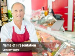His butcher proud shop