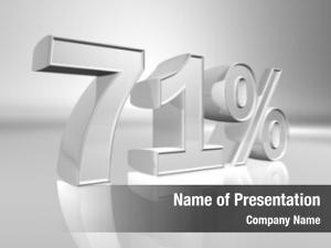 One percentage seventy percent paid