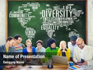 World diversity ethnicity global community