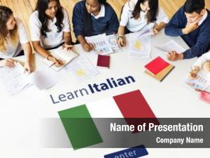 Language learn italian online education
