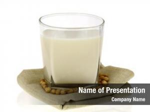 Soy glass fresh milk, also