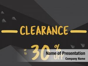 Online communication discount promotion clearance