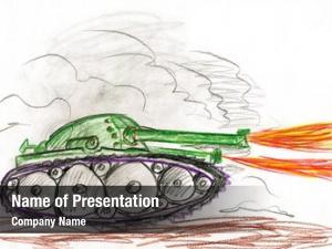 Battle tank war