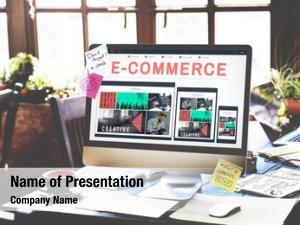 Internet e commerce e business technology connect