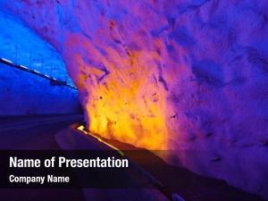 Norway laerdal tunnel longest road