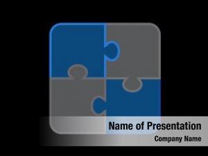 Jigsaw puzzle icon, puzzle, logic
