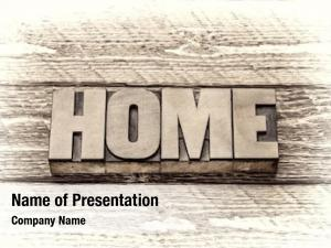 Home word powerpoint template