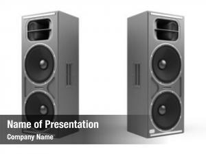 Speakers rendered some