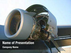 Military opened c 17 aircraft engine