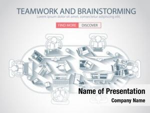 Style doodle design teamwork management,
