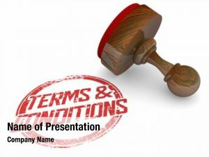 Disclaimer terms conditions stamp legal