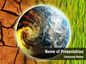 Problem global warming earth concept