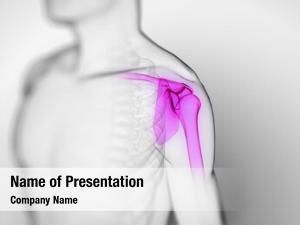 Painful rendered scientific shoulder