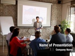 Public speaker communication meeting room