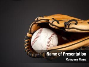 Glove baseball baseball sports theme