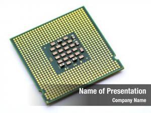 CPU on white