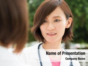 People asian medical having discussion
