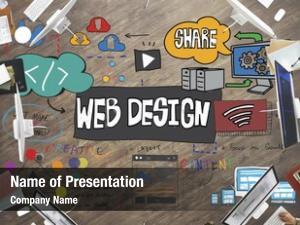 Blogging web design layout database