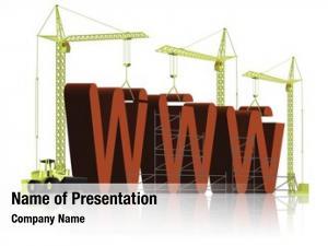Under web building construction internet