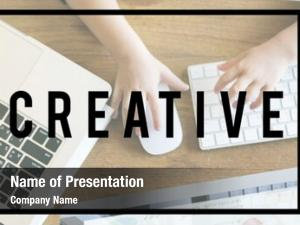 Internet creative ideas learning concept