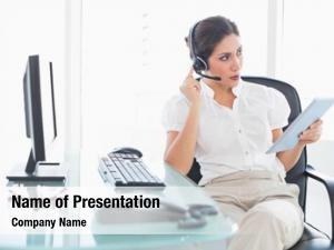 Center focused call agent using