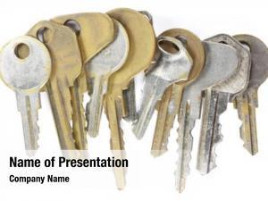 Keys bunch old