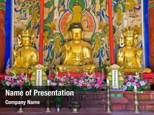 Buddhist buddhist altar sinheungsa temple