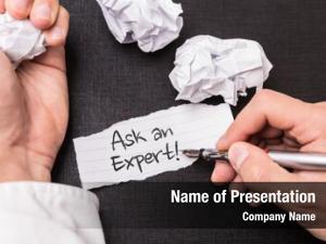 Ask an expert ask an expert